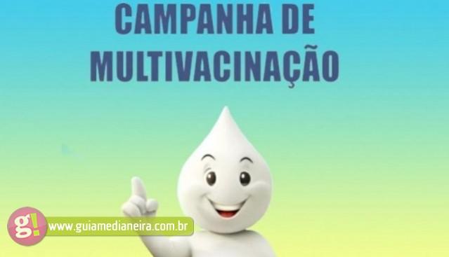 Campanha nacional de multivacinação para crianças começa nesta segunda