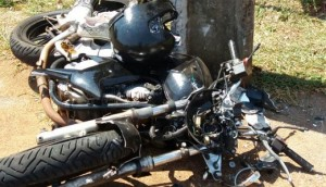 Medianeira: Motociclista fica gravemente ferido em acidente envolvendo duas motos na Rua Iguaçu -