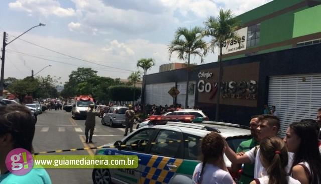 URGENTE: Adolescente invade escola armado e deixa mortos e feridos em Goiás