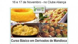 Curso básico em derivados de mandioca em Serranópolis -