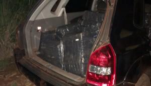 Itaipulândia: BPFron e Polícia Federal apreendem 517 kg de maconha -