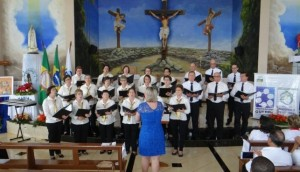 Grupo Voz Ativa de Missal participa de Encontro Regional de Corais -