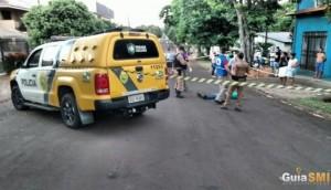 São Miguel do Iguaçu: Homicídio é registrado próximo à rodoviária -