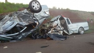 Medianeira: Morre segunda vítima do acidente registrado na PR 495 -