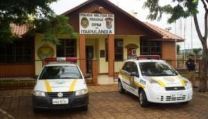 Polícia Militar de Itaipulândia localiza foragido da justiça escondido dentro de churrasqueira -