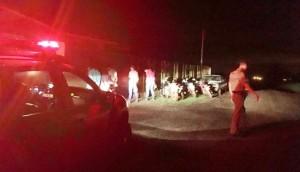 Matelândia: PM apreende quatro motos e dois veículos em ocorrência de perturbação de sossego -