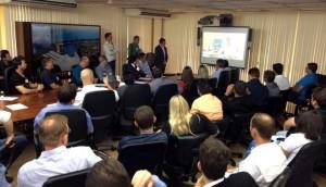 Administração municipal de Matelândia participa da apresentação do Projeto CBF Social -