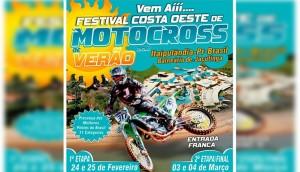 Itaipulândia: Acontece neste final de semana o 1º Festival Costa Oeste de Motocross de Verão 2018 -