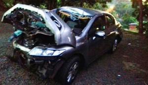 Matelândia: Morador de Medianeira morre em grave acidente registrado na BR 277 -