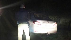 PM de Matelândia recupera veículo levado em assalto em Medianeira durante a madrugada -