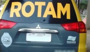 Matelândia: ROTAM prende homem em cumprimento à mandado de prisão -