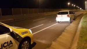 Gol roubado em Medianeira e usado em assalto à hotel em Matelândia é recuperado pela PM -