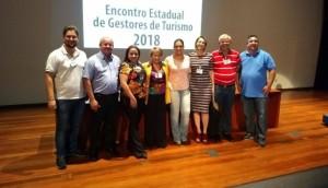 Missal esteve representada no Encontro Estadual de Gestores de Turismo em Curitiba -
