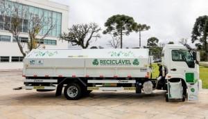 Em Convênio Estadual Itaipulândia irá receber caminhão coletor -