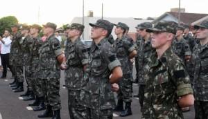 Medianeira: Tiro de Guerra realiza formatura de matrícula de 40 novos atiradores -