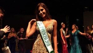 Miss Medianeira conquista título de 1ª Princesa no Miss Paraná 2018 -