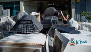 Quase 2 mil quilos de Resíduos Eletrônicos são recolhidos em Missal -