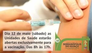 Vacina contra a gripe começa a ser aplicada hoje em Serranópolis -