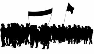 Medianeirenses se unem e convidam para mobilização a favor da Greve dos Caminhoneiros -