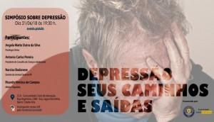 Grupo SOBREVIVÊNCIAS promove simpósio sobre Depressão  -