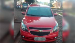 Medianeira: Polícia Militar recupera veículo com queixa de furto/roubo após denúncia -