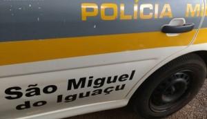 São Miguel: Adolescente é apreendido pela PM após ser flagrado furtando chinelos -