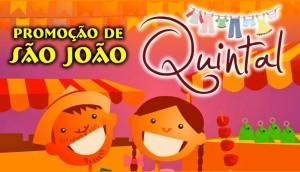 Promoção de São João na Quintal Kids -