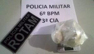 Matelândia: Casal é preso pela Polícia Militar com meio quilo de cocaína -