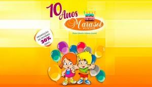 Marasol Kids comemora 10 anos com grande festa e muitas promoções para você -