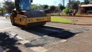 Operação tapa buracos está sendo realizada em Itaipulândia -
