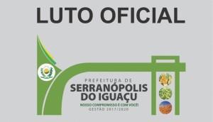 Prefeito decreta Luto Oficial por três dias em Serranópolis -