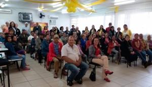 CRAS trabalha Campanha Setembro Amarelo com o grupo do PAIF -