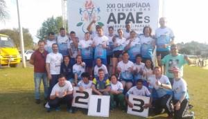 Escola Multi-Educar participou das Olimpíadas Estaduais das APAES -