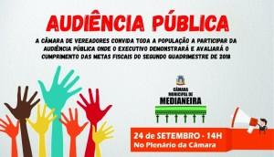 Câmara de Vereadores: Comissão de finanças convoca audiência pública para prestação de contas do executivo municipal -