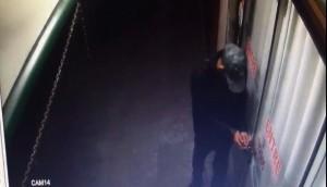 Medianeira: Câmera de vigilância flagra arrombamento de panificadora no centro -