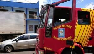 Medianeira: Corpo de Bombeiros atende ocorrência  de princípio de incêndio em apartamento no centro -