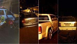 Matelândia: Veículos e motos são apreendidos e motorista presos em abordagens de trânsito -