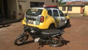 Matelândia: PM apreende adolescente com moto furtada em Medianeira -