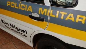 São Miguel: PM registra ocorrência de assalto à pedestre que caminhava na rodovia PR 497 -