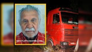 Morador de Matelândia morre esmagado pela própria carreta na rodovia PR-323 -