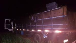 Itaipulândia: Caminhão carregado de cigarros é apreendido pela Polícia Federal e Força Nacional -