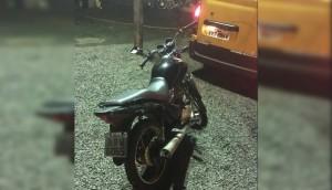 Medianeira: Após denúncia, Polícia Militar recupera moto que havia sido furtada -
