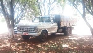 Caminhonete F-4000 foi furtada no último sábado em Ramilândia -