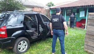 Polícia Civil recupera parte de defensivos roubados em Serranópolis do Iguaçu -