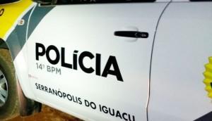 Serranópolis: Motorista flagrado dormindo em carro estacionado de forma irregular é detido após desacatar policiais -