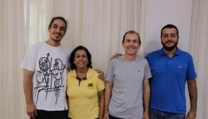 Lions Medianeira se reúne com artistas para planejar projeto de painéis com grafite  -