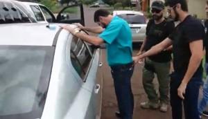 Caso Damião: Vídeo mostra Polícia Civil realizando prisão do secretário de obras de São Miguel do Iguaçu -