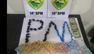 Medianeira: Polícia Militar prende homem com buchas de cocaína no Bairro Belo Horizonte -