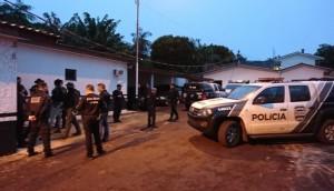 Operação 'Quadraginta': PCPR mira suspeitos de roubo e tráfico de drogas no Oeste do Estado -