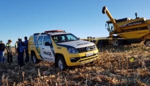 Serranópolis: Adolescente de 15 anos morre após ser atropelado por maquinário agrícola -